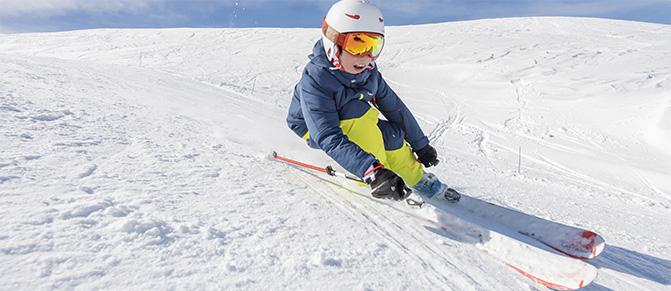 La mejor edad para aprender a esquiar