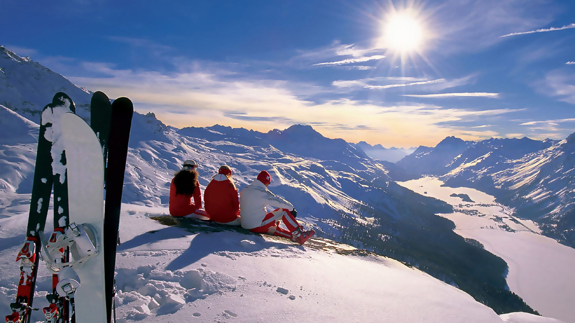 Esquiador cuida tu cuerpo