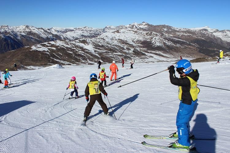pasión por el esquí al alcance de los más pequeños.